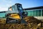 JDLink is available as a factory-installed option on all new large-frame G-Series skid steers (330G, 332G) and compact track loaders (331G, 333G).