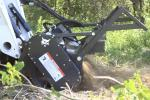 Bobcat New 70-Inch forestry cutter attachment.