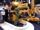 World of Concrete attendees flocked to the GOMACO exhibit to see the new Commander IIIx, which can now slipform a 24 in. (610 mm) radius. The Commander IIIx also features the GOMACO Three-Sensor Radius System for Stringline or Connect to 3D Guidance.