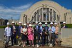The Turner Construction Company (TCC) started the $212.7 million restoration and renovation of Cincinnati's historic Union Terminal in July 2016, the home of Cincinnati Museum Center (CMC).