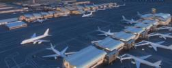 Two of the new gates will accommodate Airbus A380 and Boeing 747-8 jumbo jets. via ABC7