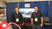 (BJody Smith (L) and Brian Singer, both of Buffalo Turbine.