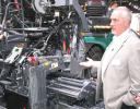 The Wirtgen Group had an astounding array of new products on display and Jim Holland provided a walk-around of one of the new Vogele pavers
