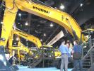 (RO) MNSW (Hyundai) Hyundai rolled into ConExpo with its largest exhibit ever and one that you certainly did not want to miss.