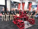 Allied Construction Equipment's crew welcomed attendees and kept busy discussing the company's line of hydraulic breakers and boom-mounted vibratory compactor/drivers.