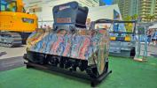 This FAE USA UML/S/EX excavator mulcher with fixed teeth rotor works for excavators between 20 and 25 tons (18 to 22 t).