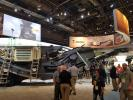 Metso's exhibit stood out with a host of crushing and screening equipment on display.