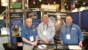 ((L-R) are Don Koehler, Bill Stull and Mark Frankenfield, all of Unique Paving Materials.