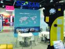 Soosan's booth at ConExpo 2017 in Las Vegas, Nev.
