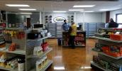 Harter currently is finishing up a parts department renovation, which includes new floors, lighting, ceilings and paint, as well as changing the parts counter and rearranging the showroom.