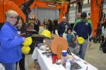 The Equipment East team thanked all of its guests with giveaways throughout the day.