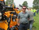 LeeBoy Territory Manager Jeremiah Reinhardt was on hand to talk about LeeBoy's line of asphalt pavers, motorgraders, compaction rollers and other asphalt paving products