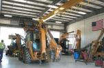 The service department space occupies a majority of the facility's square footage and features modern equipment and is fully serviced by an overhead crane system.