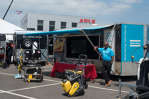 Eudes Defoe, sales manager, Atlas Copco, was well prepared to show customers what Atlas Copco had to offer.
