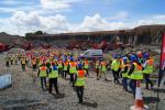 Terex|Finlay, hosted an international open day in Edinburgh, Scotland, on June 15 and 16. In total more than 350 dealers and customers from North and South America, Europe, Russia, Japan and South Africa, visited the site over the two days.