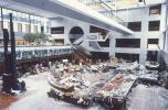 A fourth-floor walkway collapsed and fell onto the second-floor walkway and then crashed onto a crowded dance floor in the lobby at the Hyatt Regency Kansas City hotel in 1981. The incident killed 114 people and injured more than 200. Investigations revealed that the original design of the walkways was considered too difficult to construct and was replaced with a flawed design, MSN reported (Photo Credit: Pete Leabo)