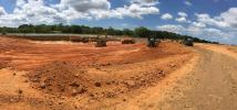 Work is under way on a $135 million Walmart distribution center in Mobile, Ala.