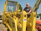 Mike Clower of Joey Martin Auctioneers also is an independent equipment buyer and seller and shows interest in some of the Cat crawler loaders.