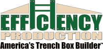 """Efficiency Production remains """"America's Trench Box Builder,"""" and no product names or branding will alter under Trinity Shoring Products' administration."""