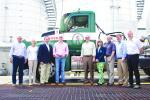 The Gorman Group Executive Team (L-R) are: Jerry Marsicano, Kim Wilson, Joe Farone, Mark Gorman, Tony Gorman, Terry Matuszyk, John Cawthern, Kevin Nichols and Ed House.