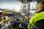 Many Volvo CE machines have been designed with operator comfort in mind, including removable steering columns and adjustable seats.