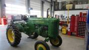 A customer who collects equipment brought this John Deere tractor in for repairs and renovation.