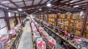 With space made available by moving finished goods into the new D.C., the company is implementing a new factory floor layout in Fabrication and Assembly to improve flow and efficiency.