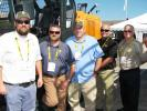 The staff of FAE USA Inc. (L-R) including Will Rigdon, Allen Tennis, Lee Smith, John DalBianco and Chris Koch had an impressive display of mulching and grinding products to showcase at ICUEE.