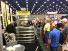 The Ultra-Shore display area was absolutely packed with attendees wanting more info on their aluminum light weight-easy to use trench shoring products.