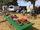 Frank Steel brought some construction toys to the event.