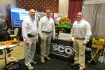 (L-R): Ken Pesta, Anthony Falzarano and Dave Dellaratta were among the contingent representing JESCO at the UTCA show.