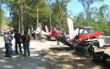 Manufacturers came out in droves for this event and transformed the woods of Monterey, Tenn., into a trade show-style demo area.