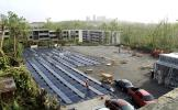 he company used solar panels and batteries to restore power to Hospital del Niño (Children's Hospital) in San Juan.