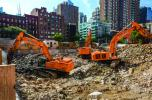 AOL Time Warner headquarters, Bloomberg headquarters, The Hearst Building, Trump World Tower. These New York City buildings, along with many others, all have something in common — solid foundations built by contractor Mayrich Construction and its fleet of Hitachi excavators.