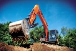 Doosan DX140LCR-5 excavators are designed for long life with an extra-sturdy frame and reinforced superstructure.