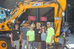 (L-R): Mike Demonte, Justin Davis, Kaelyn Mikulsky, Chuck Davis, Meg Davis and Kevin Marley, all of Badass Tools, a family-owned business, based in Somers, Conn., attended the event.