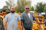 Mark (L) and Steven Stanley, father and son who own Cedar Ridge Construction in Newington, Conn., are ready to add some equipment to their fleet.