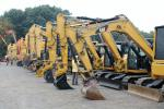 An extensive inventory of excavators went on the auction block during Sales Auction Company's 2017 Fall Sale —  two of those were new Doosan 225LCs that sold for $105,000 each.
