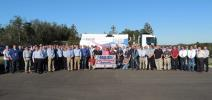 Schwarze Industries, based in Huntsville, Ala., recently presented an innovative new design in street sweepers to its national dealers in Birmingham, Ala.