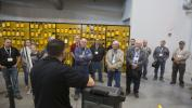 Foley Equipment's staff conducted tours of the new facility during the event.
