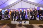 Brandywine Realty Trust, in partnership with Drexel University, broke ground on Nov. 8 on Phase I construction of the mixed-use, master-planned Schuylkill Yards development in University City.