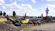 Recently, Todd's company, 108 Excavating, had a job crushing the remains of a Route 66 Motel.