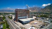 New buildings are taking shape at a $429 million replacement project at Utah Valley Hospital, formerly Utah Valley Hospital, in Provo. (Utah Valley Hospital photo)