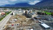 Groundbreaking for the hospital replacement project took place on June 17, 2015, kicking off construction of the two major replacement buildings. (Utah Valley Hospital photo)