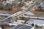 The newly reconstructed Creek Road Bridge over Route 42 is open to traffic.