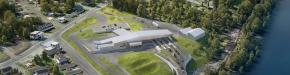 The U.S. General Services Administration (GSA) has officially broken ground on a $71.7 million Land Port of Entry (LPOE) project at the international border crossing between Madawaska, Maine, and Edmundston, New Brunswick in Canada. (GSA rendering)