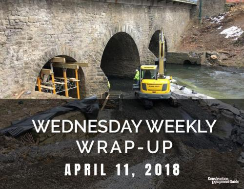 Wednesday Weekly Wrap-Up : April 11, 2018