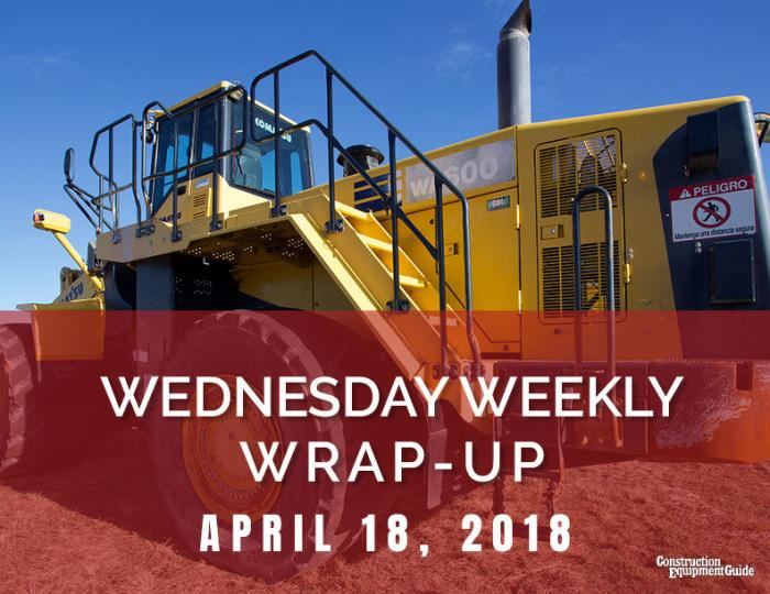 Wednesday Weekly Wrap-Up : April 18, 2018