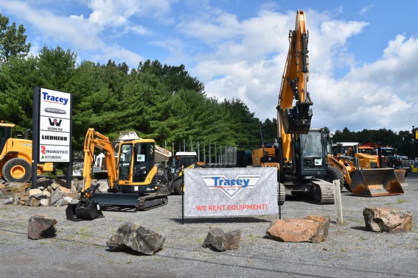 Located just off I-87, Tracey Road Equipment offers every imaginable tool for contractors, municipalities, loggers and truck fleet owners with easy interstate access.