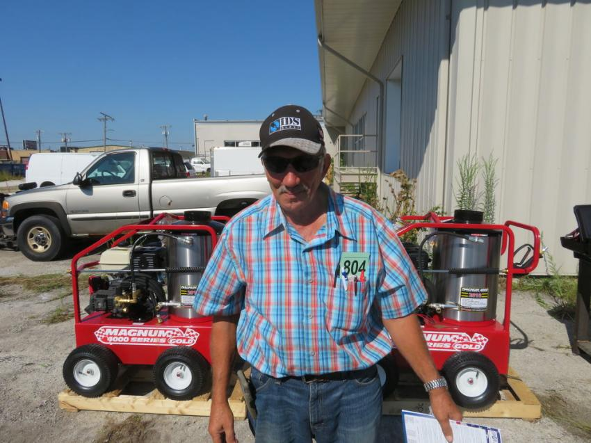Nick Spanos of Spanos Painting is interested in these Magnum 4000 series power washers.